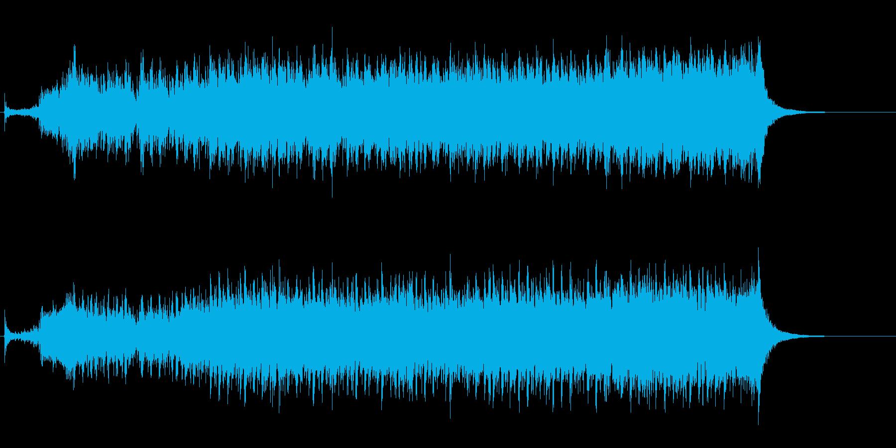 【和風】和楽器のみをによる荒々しい曲Bの再生済みの波形