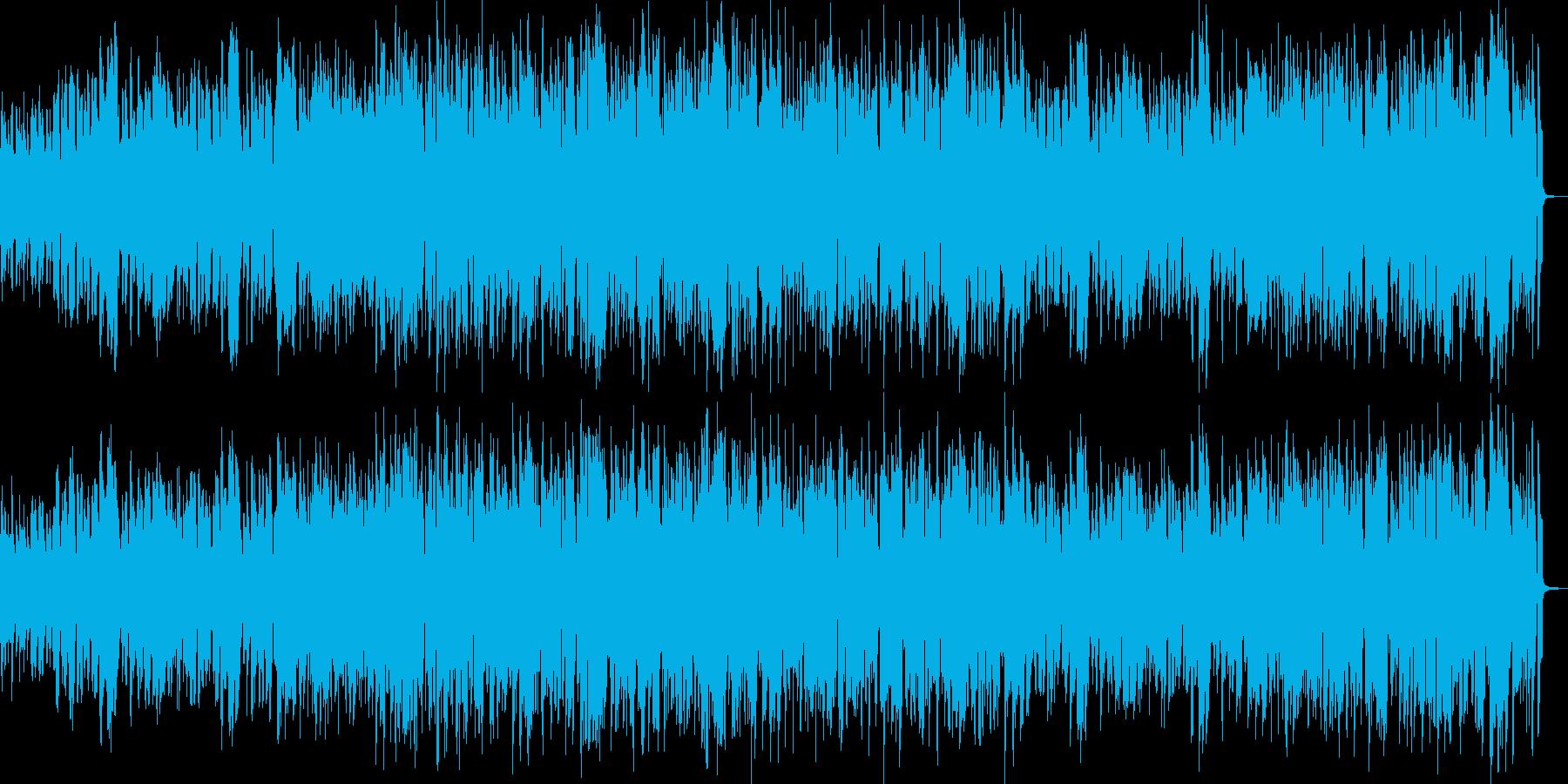 クラリネット・ジャズの再生済みの波形