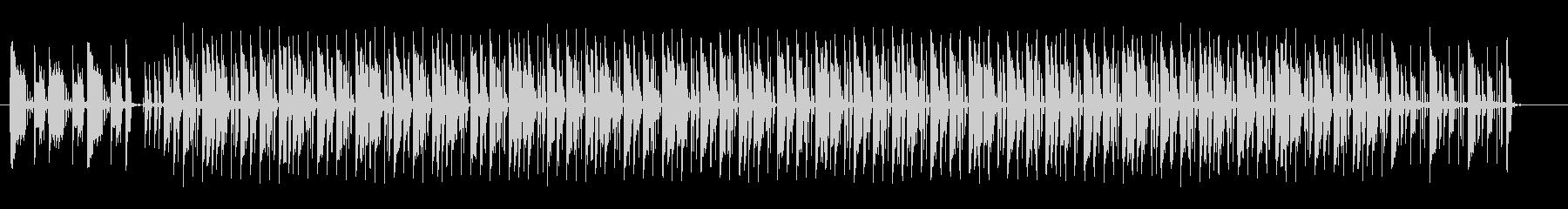 躍動感とグルーブ感漂うDJミュージックの未再生の波形