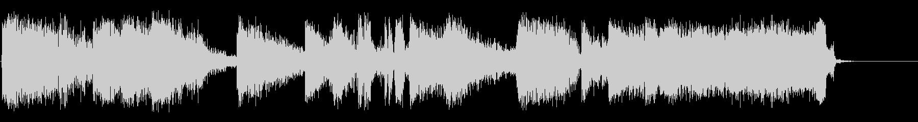 バトルゾーンの未再生の波形
