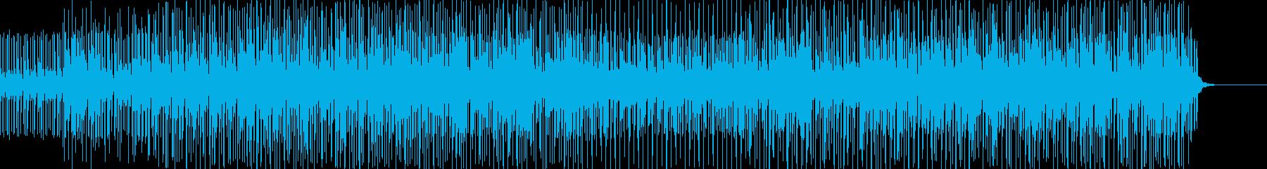 アフリカの音をとらえた元気なワール...の再生済みの波形