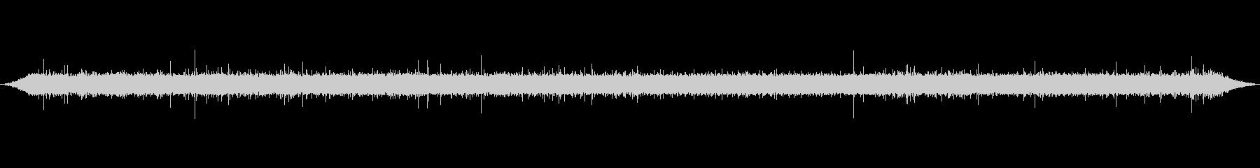 渓谷 清流 バイノーラル録音の未再生の波形
