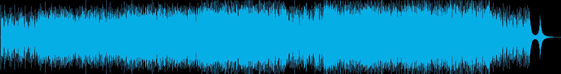 Shimmerの再生済みの波形