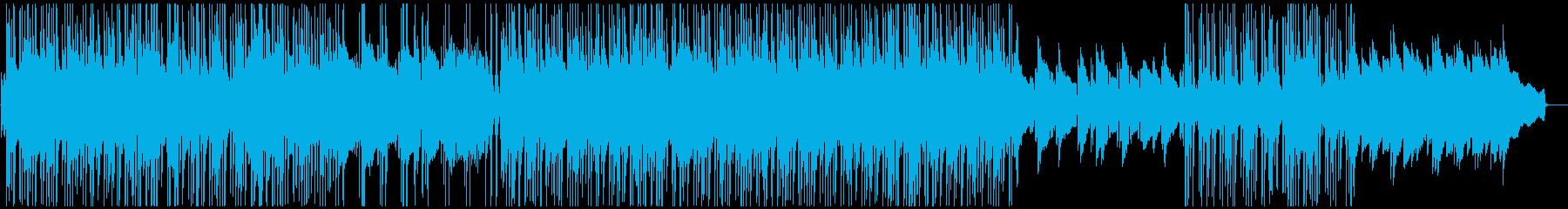 エレピとアコギがメインのBGMです。の再生済みの波形