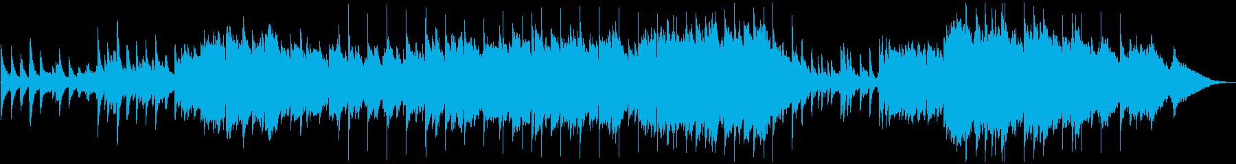 ポップインスト。弦楽器のピアノバラ...の再生済みの波形