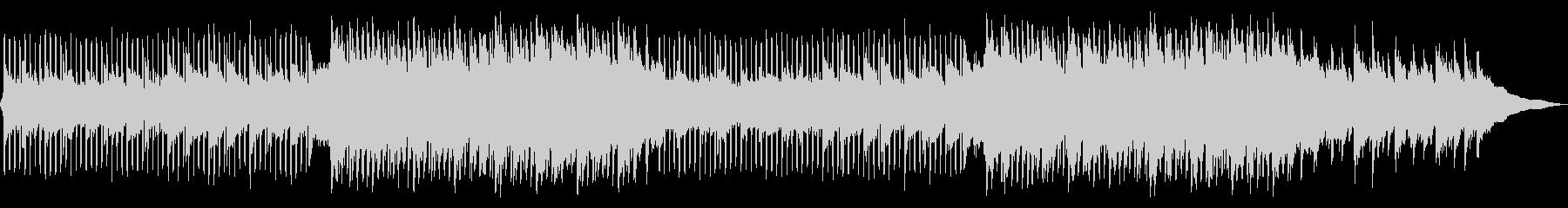 透明感、清涼感のあるピアノメロのEDMの未再生の波形