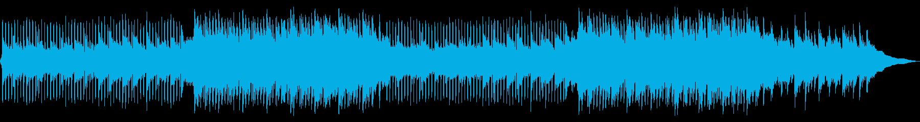 透明感、清涼感のあるピアノメロのEDMの再生済みの波形