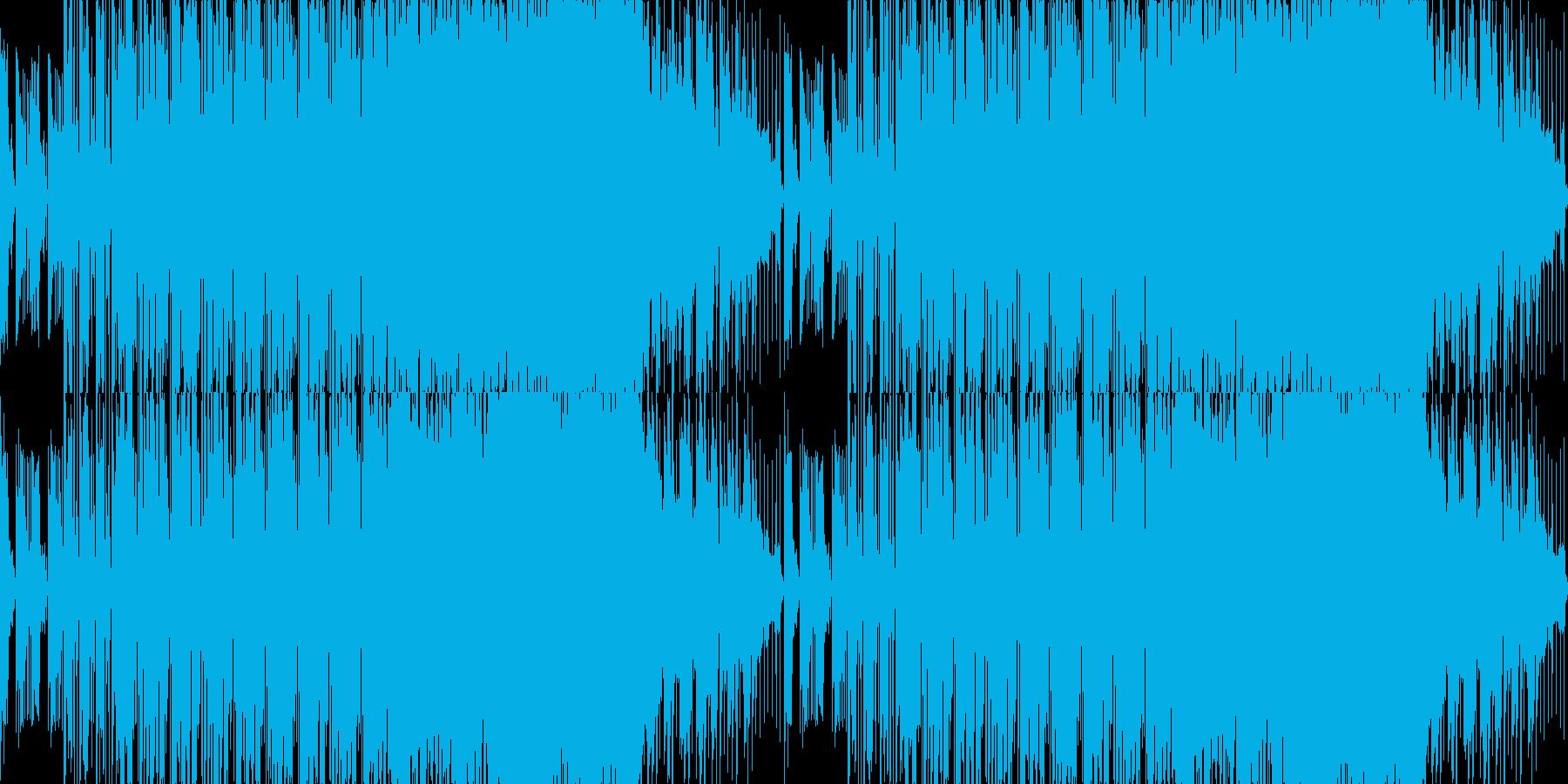 ループ■優しく切ないローファイブレイクスの再生済みの波形