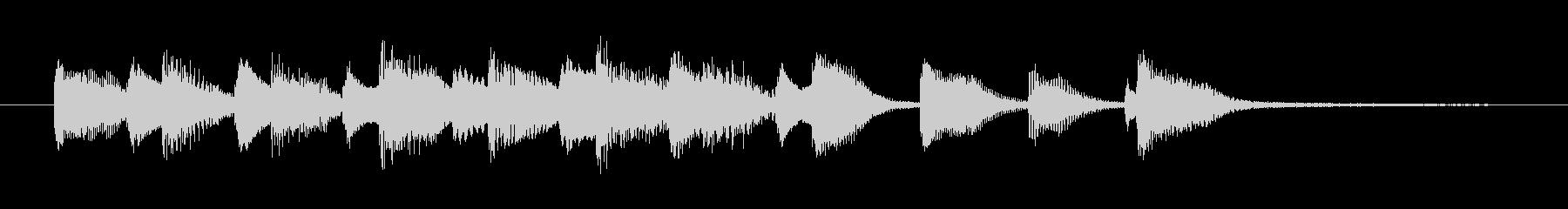 ピアノジングル-ジャズ風、軽快、明るいの未再生の波形