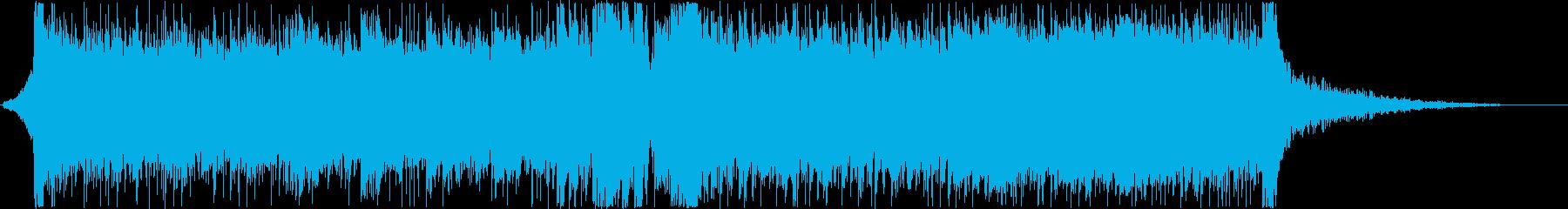 イベント オープニング ロック 激しいの再生済みの波形