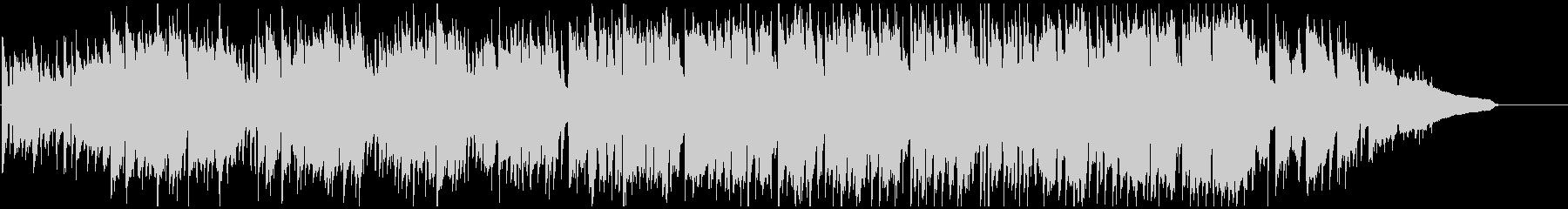 クラリネット生演奏のバラエティ系ポップスの未再生の波形