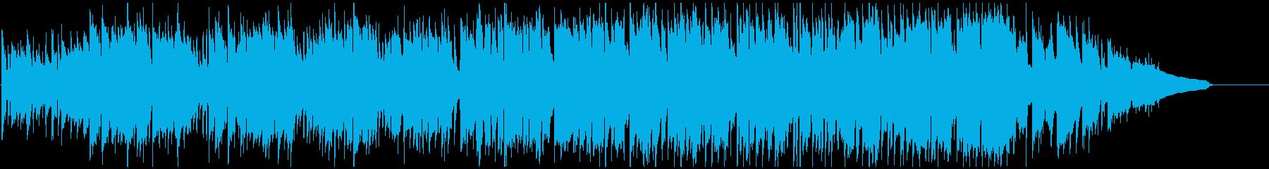 クラリネット生演奏のバラエティ系ポップスの再生済みの波形