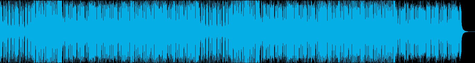 ポップなクラブミュージック 1の再生済みの波形