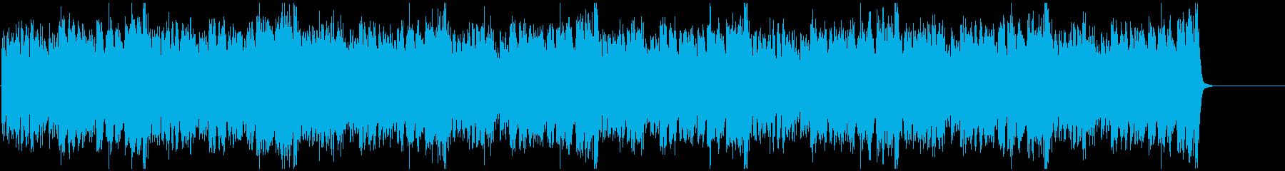 緊張感のあるクラシック曲【ピアノ連弾】の再生済みの波形
