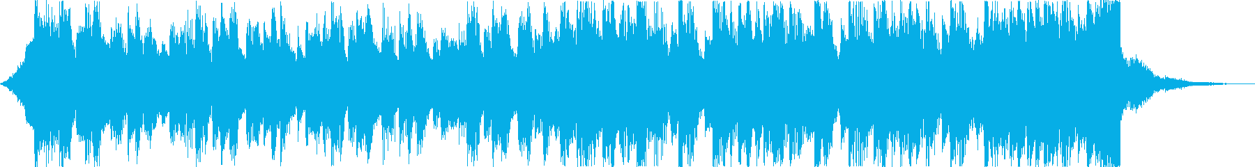 軽快清涼感クールEDMトロピカルハウスdの再生済みの波形