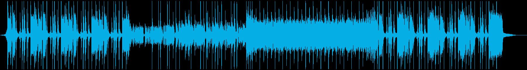 ファンク・ハードロック・バンド・バトルの再生済みの波形