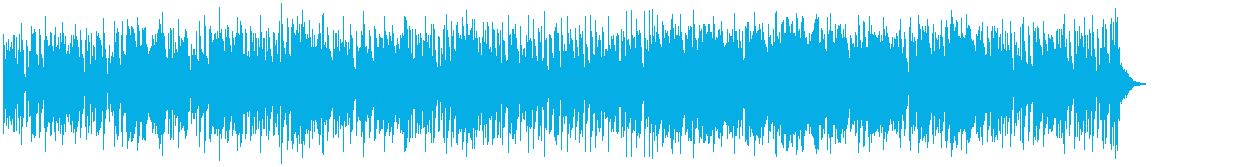 街のネオンの洒落たマイナーテクノの再生済みの波形