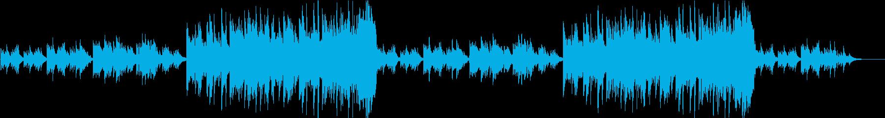 感動的なピアノ曲  ダイナミックverの再生済みの波形