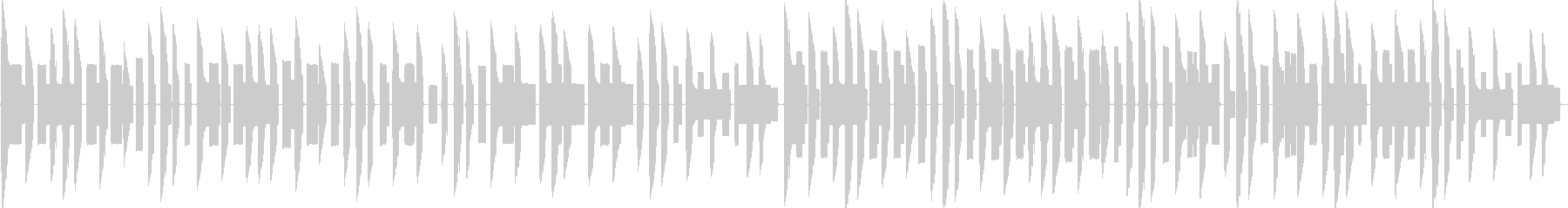 ほのぼの陽気なファミコン風チップチューンの未再生の波形