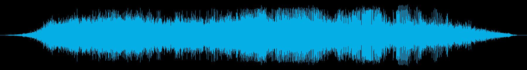 ヘリコプター1の再生済みの波形
