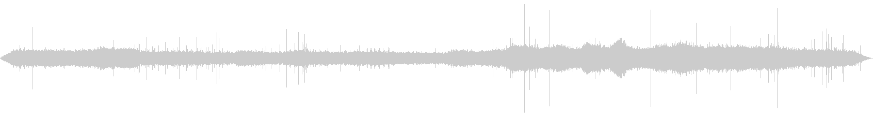 【自然音】雨の森01(押方)バイノーラルの未再生の波形