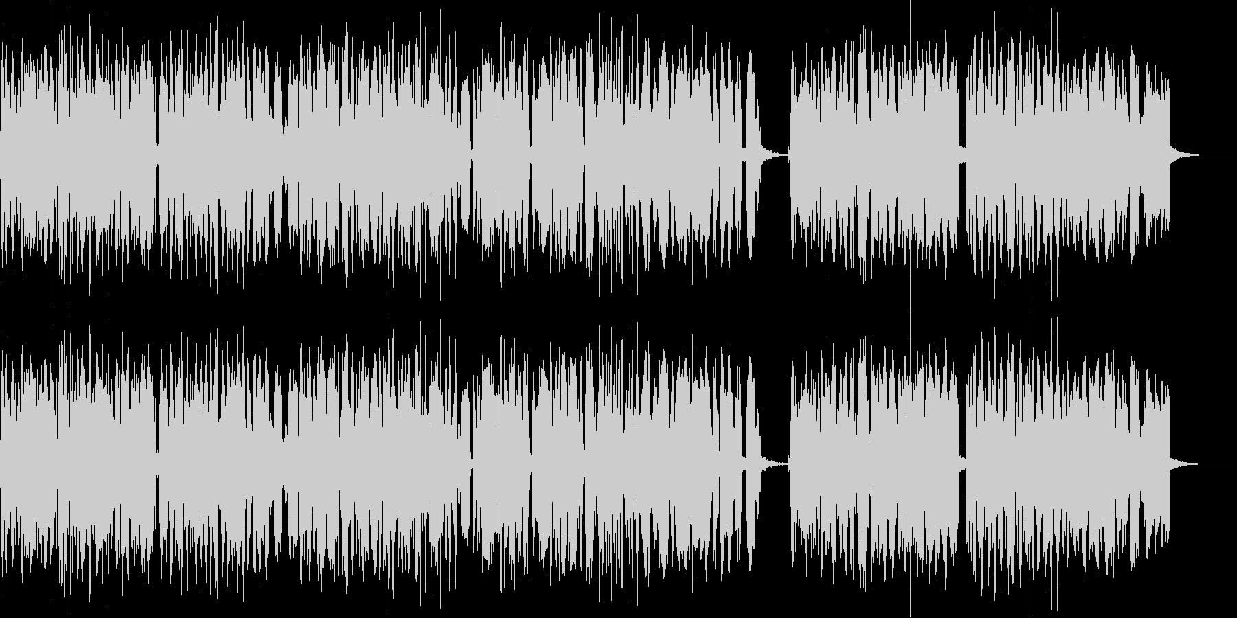 どこか懐かしいアコーディオンの音色の未再生の波形