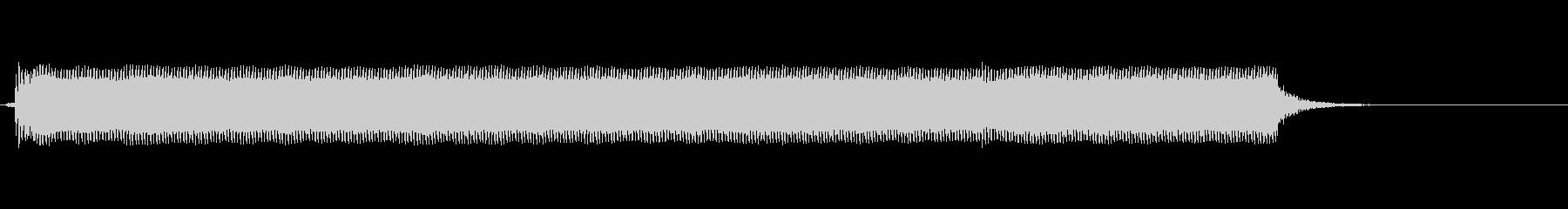 ゲームショーブザー:ロングブザーの未再生の波形