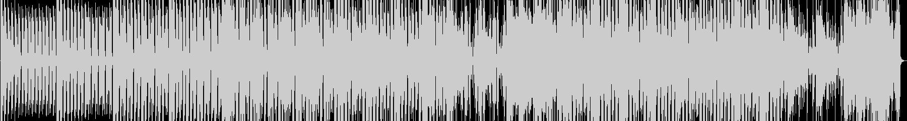 カッティングギターのグルービーなハウスの未再生の波形