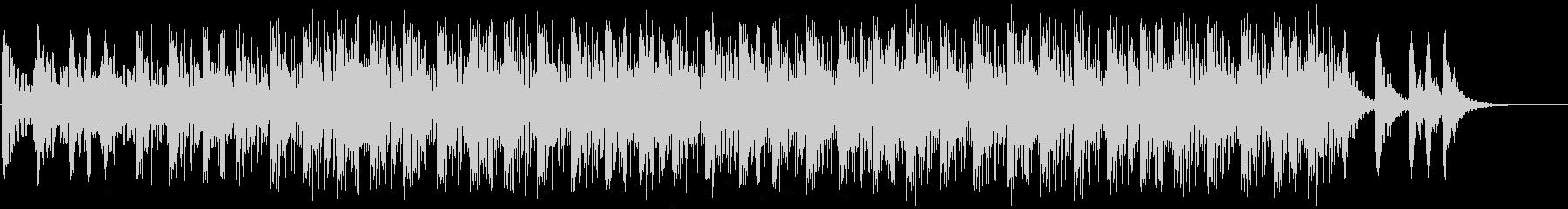 サイエンス系BGM(WAVファイル版)の未再生の波形