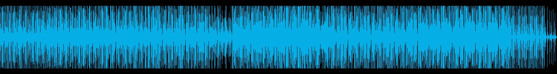 ミッドテンポのトロピカルハウスの再生済みの波形