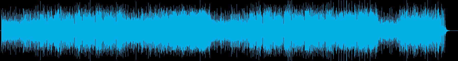 ユニークな鍵盤・打楽器・トランペット曲の再生済みの波形