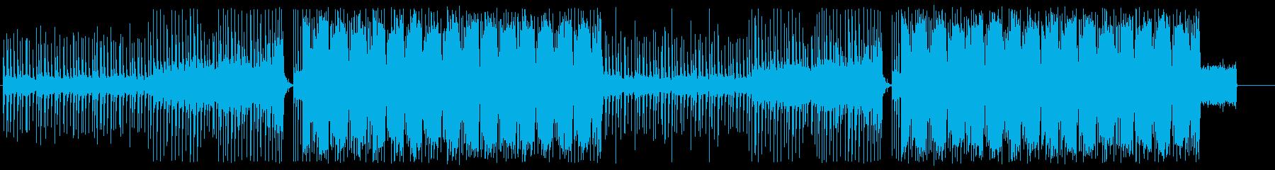 洋楽 Future Pop ED 切ないの再生済みの波形