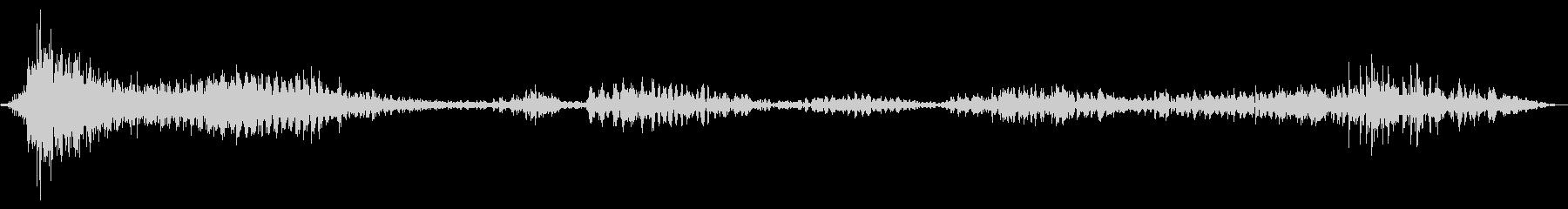 ベンガルタイガー:鳴き声と鳴き声、...の未再生の波形