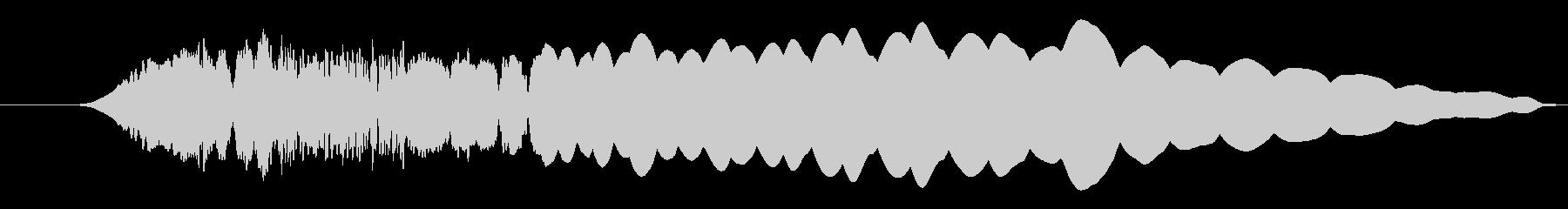 パズル_ボタン_ガチャンの未再生の波形