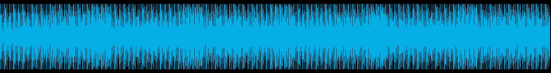 未来的なイメージのエレクトロの再生済みの波形