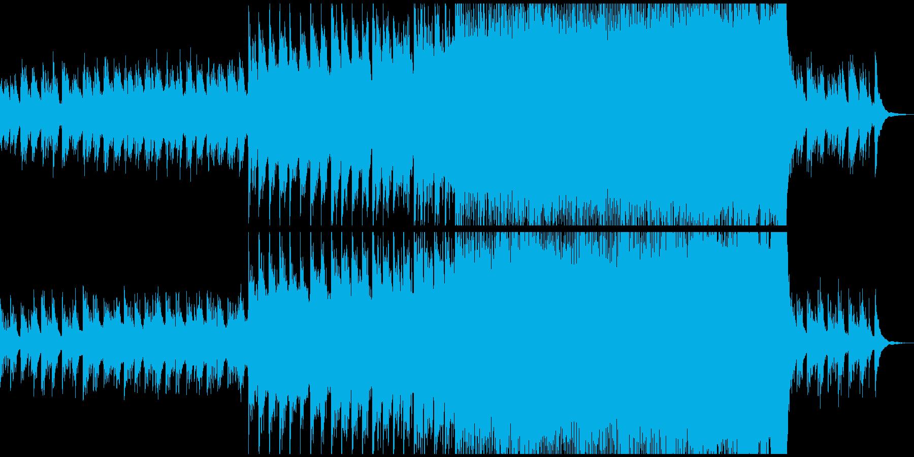 ピアノとエレキの旋律が印象的なバラードの再生済みの波形