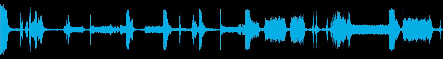 モーター油圧リフトのストレスの再生済みの波形