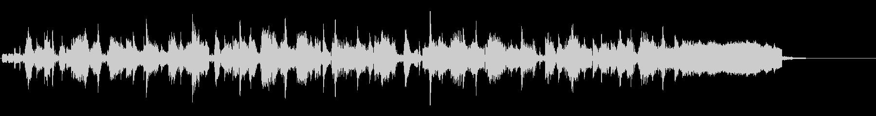DJのスクラッチが特徴のLofiジングルの未再生の波形
