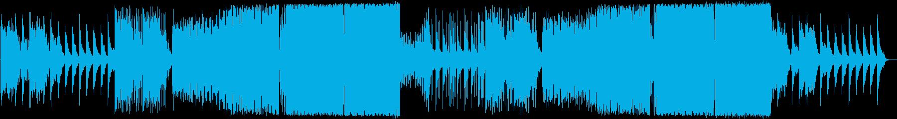 ピアノとボーカルチョップが爽やかなEDMの再生済みの波形