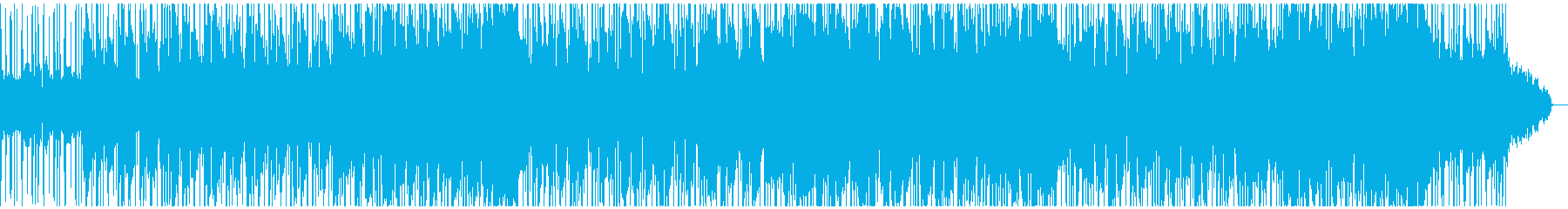 Urban city beat smooth jazz's reproduced waveform