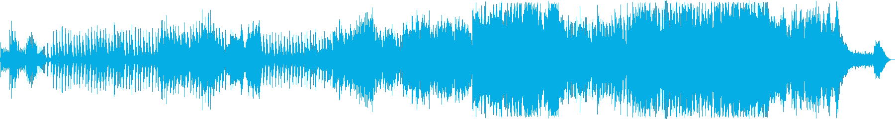 メルヘンな管楽器・弦楽器・鉄琴などの再生済みの波形