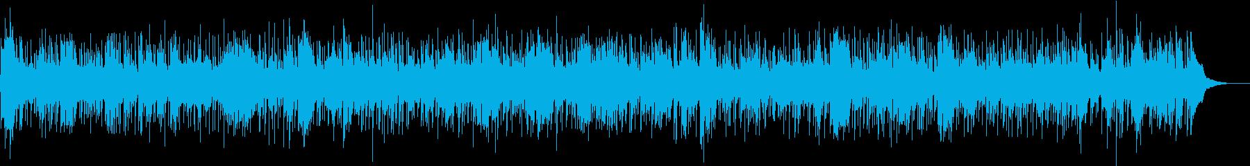 ハーモニカ中心の明るいフォークバンドの再生済みの波形