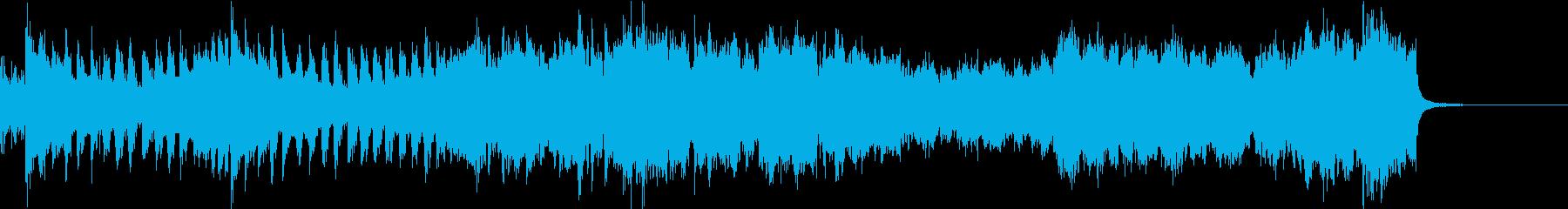 ゲームのOPや式典ファンファーレなどにの再生済みの波形
