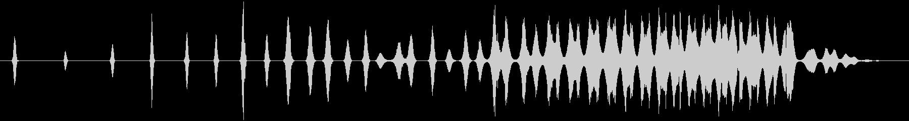 レトロなスワイプ、スペースシューッ...の未再生の波形