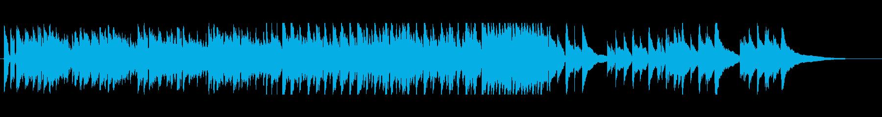 爽やかな生録音アコギ+マンドリンの再生済みの波形