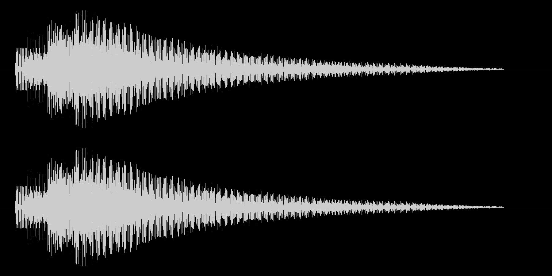 トゥルリローンの未再生の波形