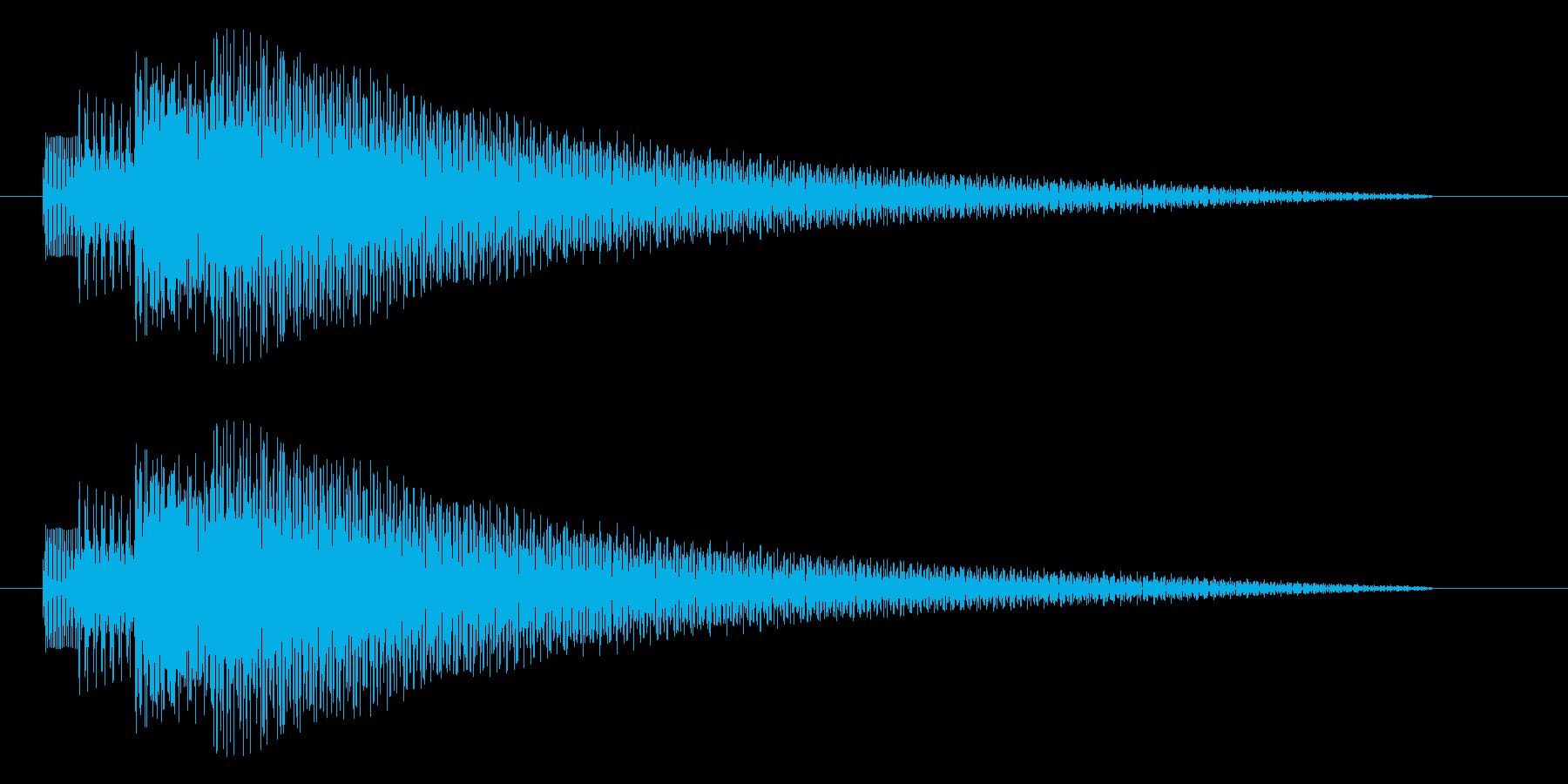 トゥルリローンの再生済みの波形