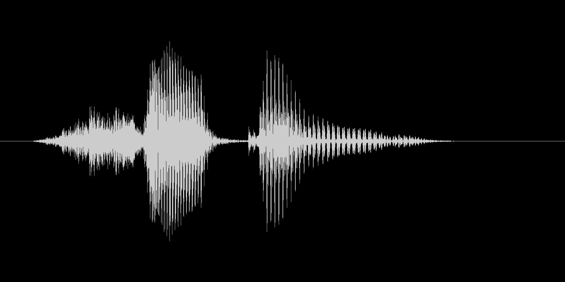 Second(セカンド)の未再生の波形