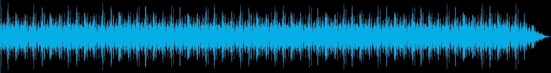 【ミステリアス】エレクトリックなBGMの再生済みの波形