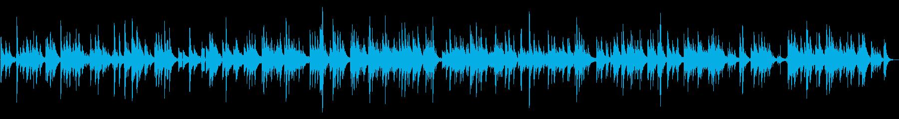 生演奏しっとり懐かしいアコギサウンドの再生済みの波形